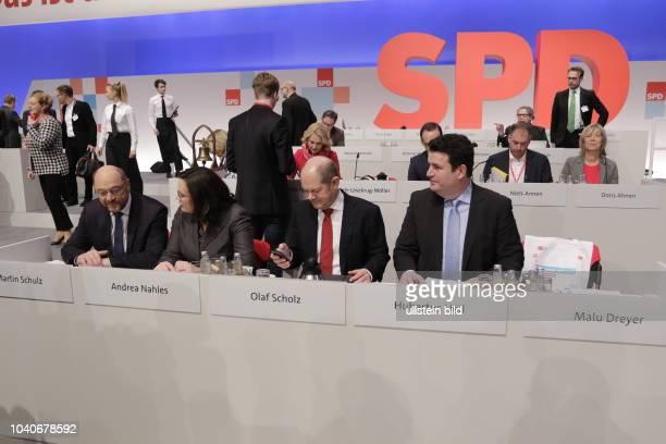 Deutschland Berlin Ordentlicher SPDBundesparteitag
