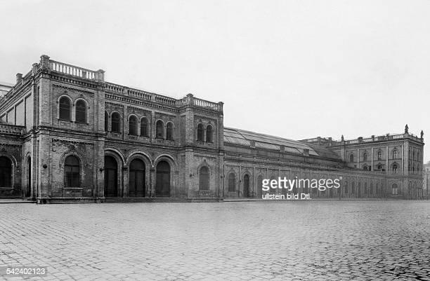 Deutschland; Berlin; Plaza Variete am Kuestriner Platz Aussenansicht 1928identisch mit EDV 00802767