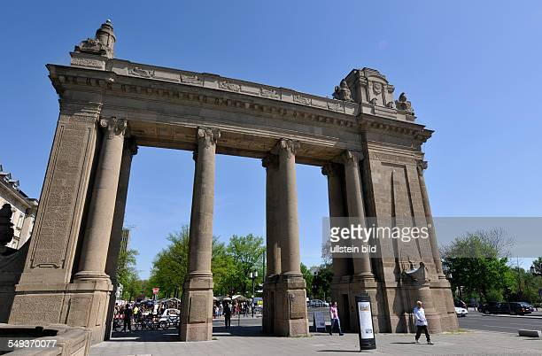 Deutschland Berlin Straße des 17 Juni Charlottenburger Tor