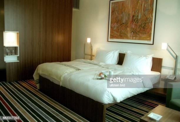 Zimmer im Hotel Concord Architekt Jan Kleihues