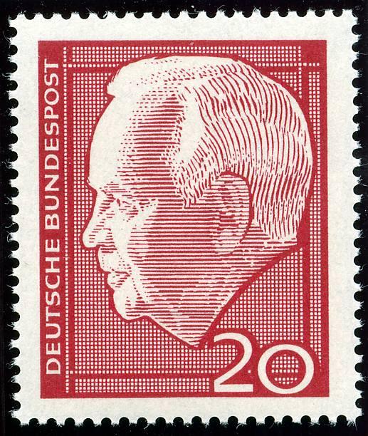 Briefmarke Deutsche Post Bundespost Heinrich Lübke Pictures