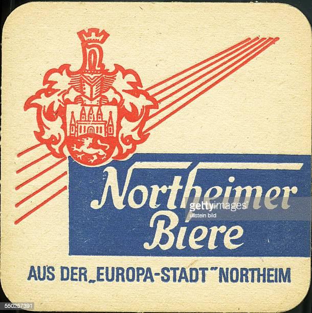 GER Deutschland ca 1970 Bierdeckel Northeim Northeimer Biere
