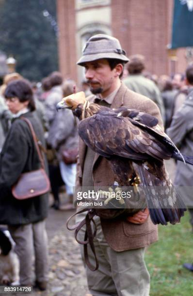 GER Deutschland ca1980 Beizjagd Falknerei
