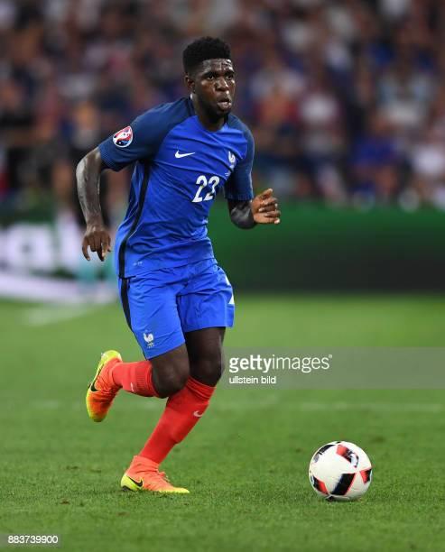 FUSSBALL Deutschland Frankreich Samuel Umtiti