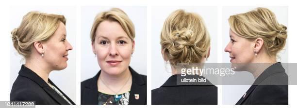 DEU Deutschland Germany Berlin Porträt der Bürgermeisterin des Berliner Stadtteils Neukölln Dr Franziska Giffey
