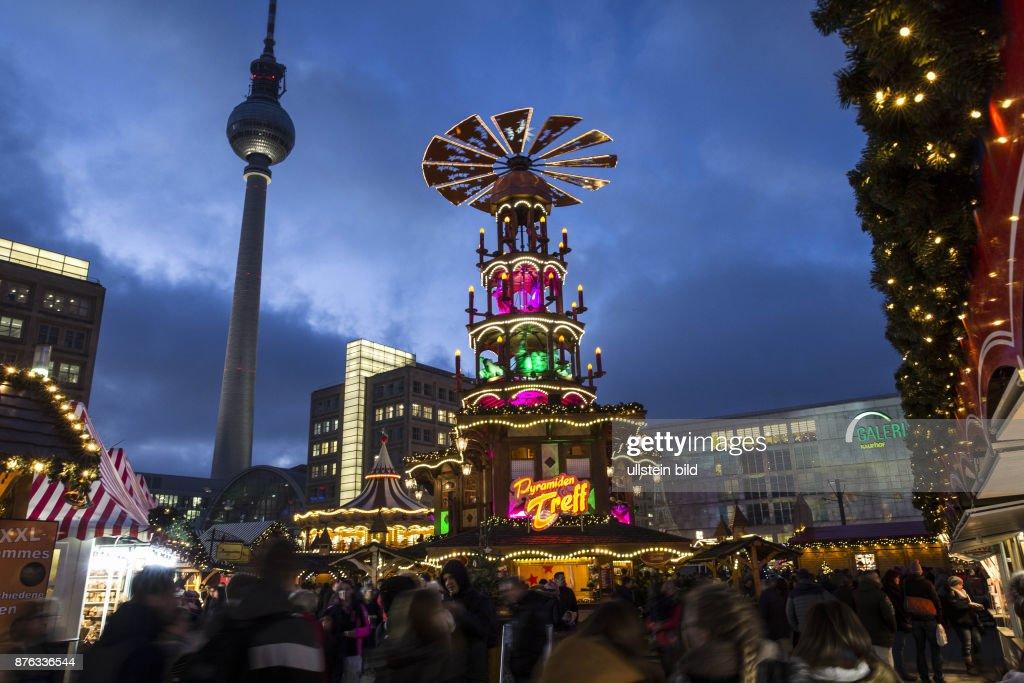 Deutschland Weihnachtsmarkt.Deu Deutschland Germany Berlin Weihnachtsmarkt Am Alexanderplatz