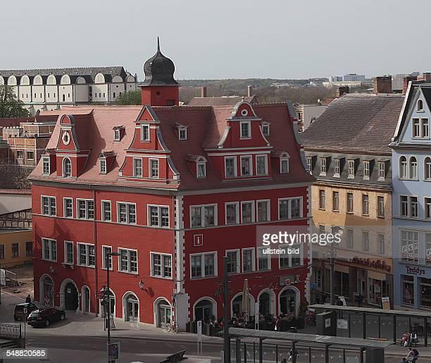 Deutschland Halle Markt Marktplatz Marktschlößchen