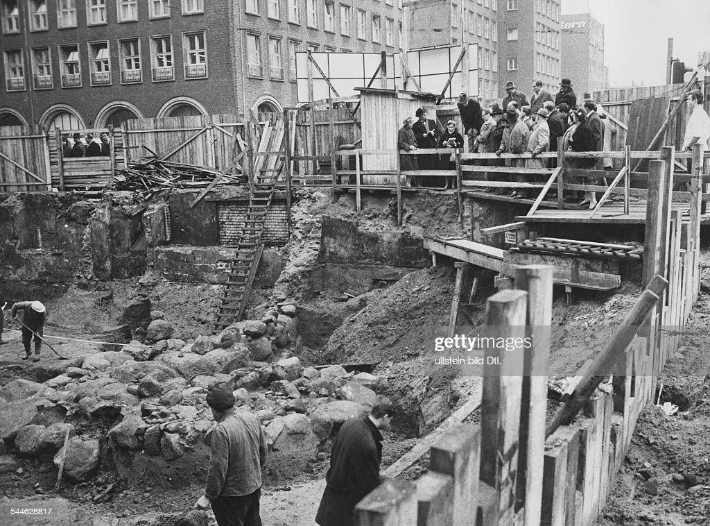 Der Stadt Hamburg hamburg ausgrabungsstaette hammaburg ausgrabungen der alten