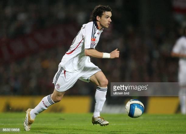 DFBPokal Saison 2006/2007 FC St Pauli FC Bayern München 12 nach Verlängerung Owen Hargreaves