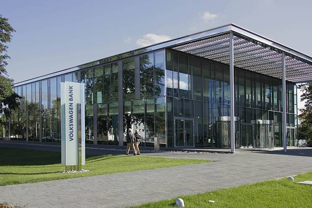 Braunschweig - - Volkswagen Bank in Braunschweig Pictures | Getty Images