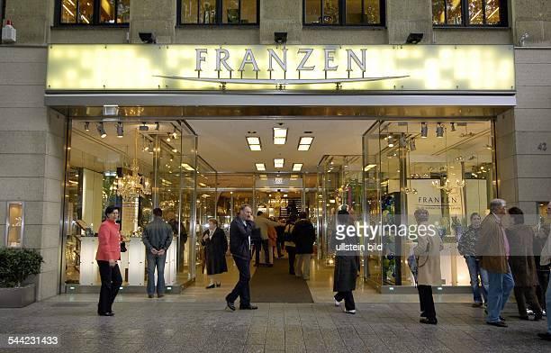Franzen Düsseldorf königsallee franzen stock photos and pictures getty images