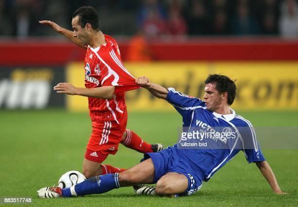Deutschland NordrheinWestfalen Köln DFBPokal Saison 2006/2007 1 FC Köln FC Schalke 04 42 nach Verlängerung Schalkes Zlatan Bajramovic hält Salvatore...