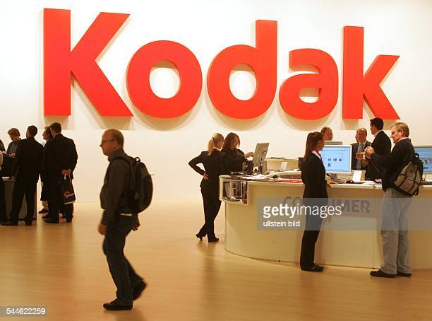 Deutschland, Nordrhein-Westfalen, Koeln, photokina 2006, Stand der Firma Kodak-