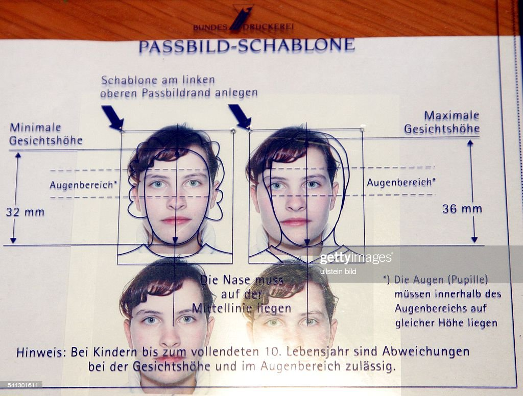 Tolle Passfoto Photoshop Vorlage Fotos - Entry Level Resume Vorlagen ...