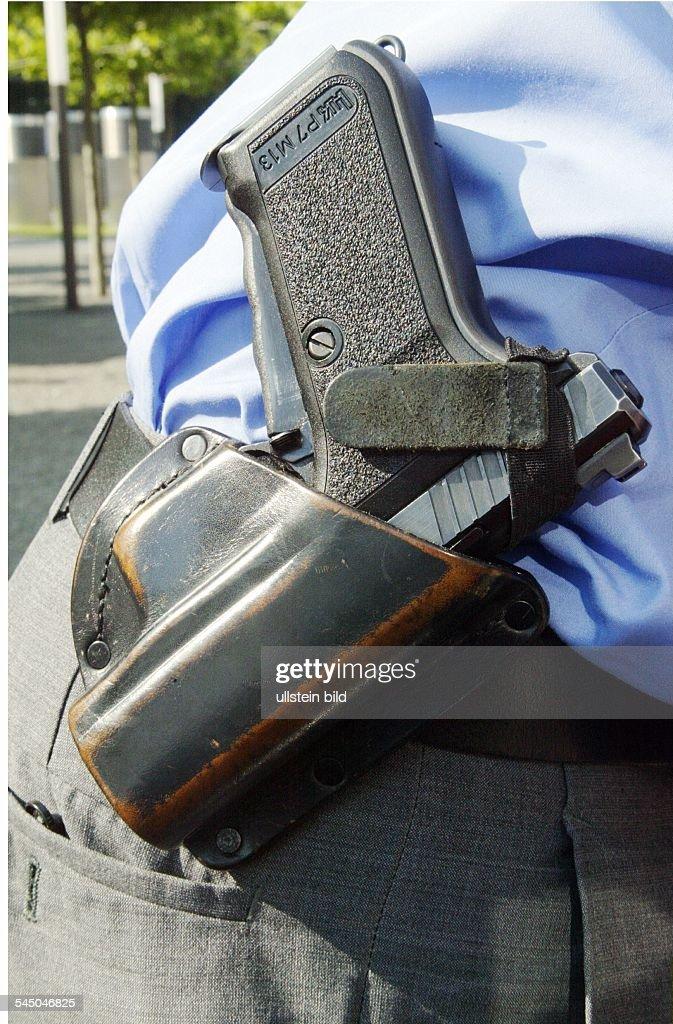 Polizeiwaffe Deutschland