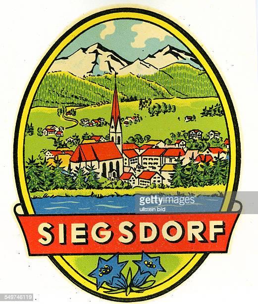 GER Deutschland Siegsdorf Bayern