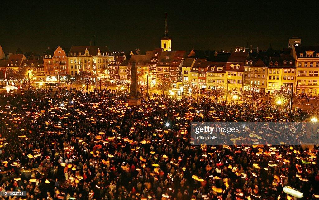 Deutschland Thuringen Erfurt Martini Feier Mit Laternenumzug Am News Photo Getty Images