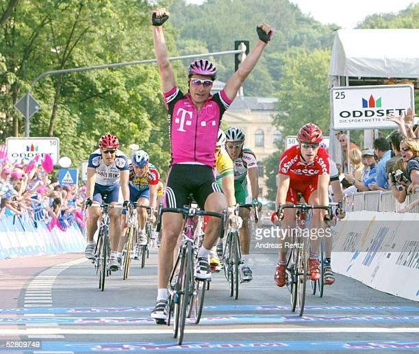 Deutschland Tour 2003 1Etappe/Dresden Altenburg Sieger Erik ZABEL/GER Team Telekom