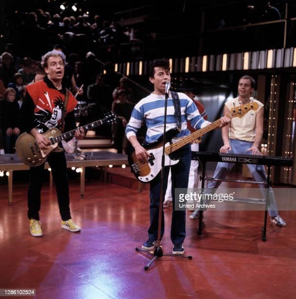 Deutschrock Band aus München, 1984. / Musik, Gruppe, 80er.