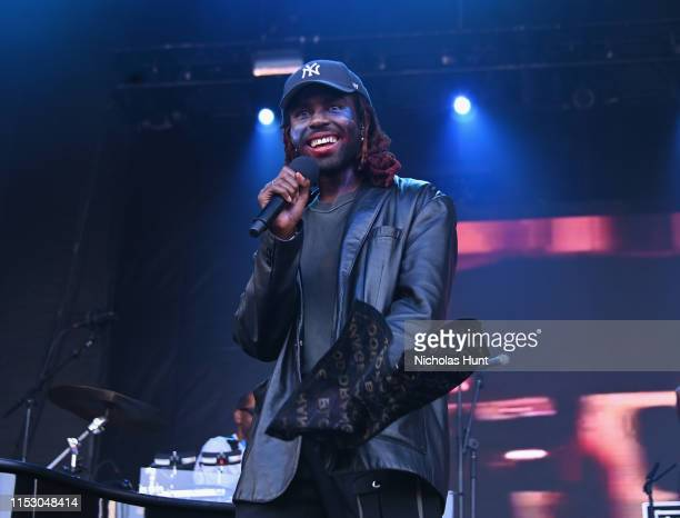 Dev Hynes and Blood Orange performs at the 2019 Governors Ball Festival at Randall's Island on May 31 2019 in New York City