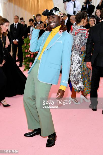 Dev Hynes attends The 2019 Met Gala Celebrating Camp Notes on Fashion at Metropolitan Museum of Art on May 06 2019 in New York City