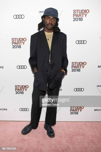 Dev Hynes attends the Whitney Museum Celebrates The 2018 Annual Gala And Studio Party at The Whitney Museum of American Art on May 22 2018 in New...