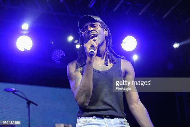 Dev Hynes of Blood Orange performs onstage at The Other Tent during Day 2 of the 2016 Bonnaroo Arts And Music Festival on June 10 2016 in Manchester...