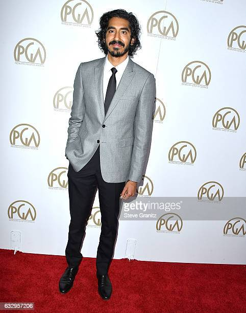 Dev Patel arrives at the 28th Annual Producers Guild Awards at The Beverly Hilton Hotel on January 28 2017 in Beverly Hills California