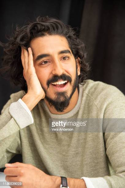 "Dev Patel at the ""Hotel Mumbai"" Press Conference at the Crosby Street Hotel on March 17, 2019 in New York City."