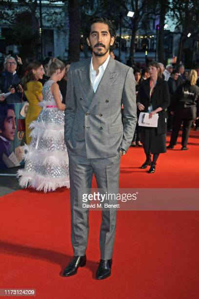 "Dev Patel attends the 63rd BFI London Film Festival Opening Night Gala Screening and European Premiere of ""The Personal History Of David Copperfield""..."