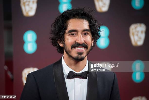 Dev Patel attends the 70th EE British Academy Film Awards at Royal Albert Hall on February 12, 2017 in London, England.