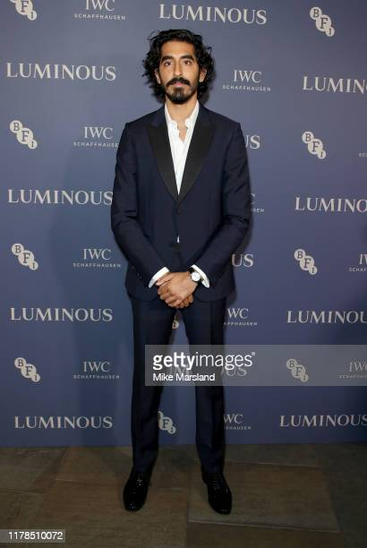 Dev Patel attends the BFI Luminous Fundraising Gala at The Roundhouse on October 01, 2019 in London, England.