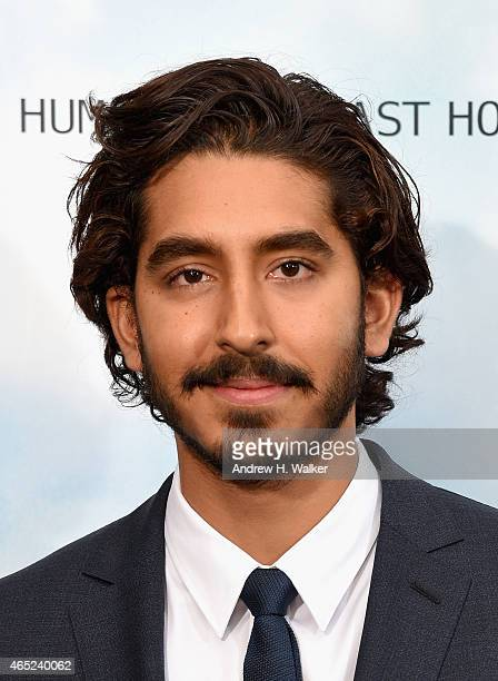Dev Patel attends the 'Chappie' New York Premiere at AMC Lincoln Square Theater on March 4 2015 in New York City
