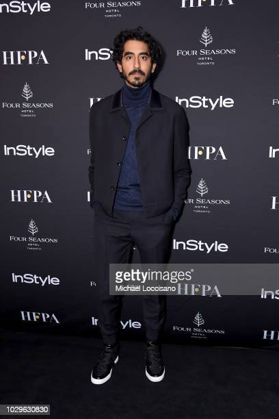 Dev Patel attends The Hollywood Foreign Press Association and InStyle Party during 2018 Toronto International Film Festival at Four Seasons Hotel on...