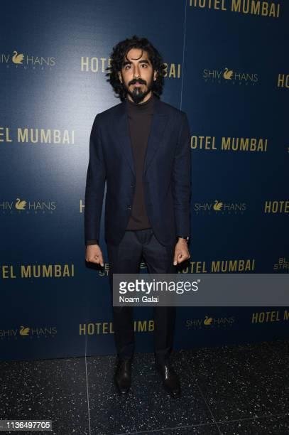 "Dev Patel attends the ""Hotel Mumbai"" New York Screening at Museum of Modern Art on March 17, 2019 in New York City."
