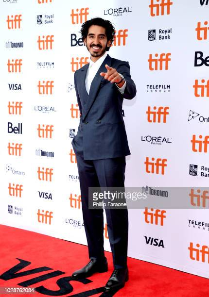 Dev Patel attends the Hotel Mumbai premiere during 2018 Toronto International Film Festival at Princess of Wales Theatre on September 7 2018 in...