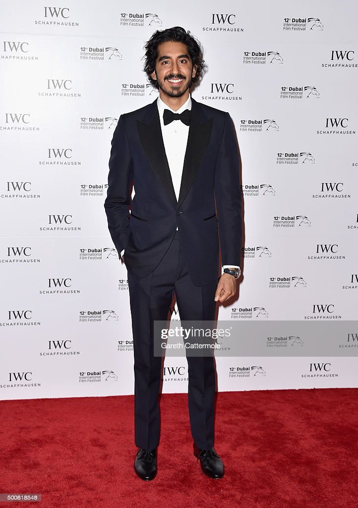 Dev Patel attends the IWC Filmmakers Award during day two of the 12th annual Dubai International Film Festival held at The One and Only Mirage Hotel on December 10, 2015 in Dubai, United Arab Emirates.