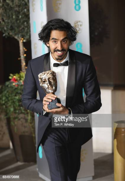 Dev Patel attends the official after party for the 70th EE British Academy Film Awards at The Grosvenor House Hotel on February 12 2017 in London...