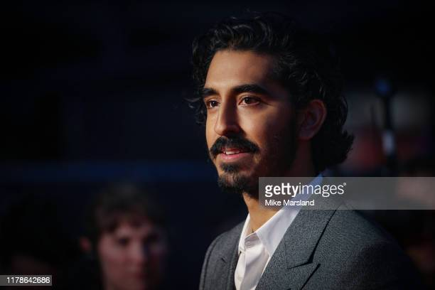 "Dev Patel attends ""The Personal History Of David Copperfield"" European Premiere and Opening Night Gala during the 63rd BFI London Film Festival at..."