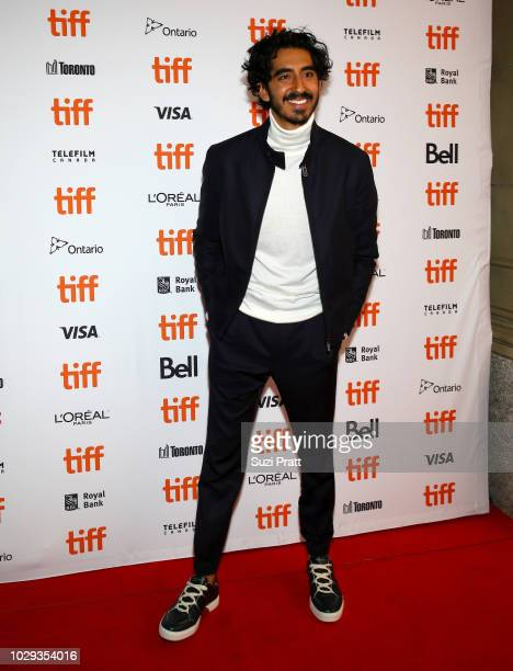 Dev Patel attends the The Wedding Guest premiere during 2018 Toronto International Film Festival at The Elgin on September 8 2018 in Toronto Canada