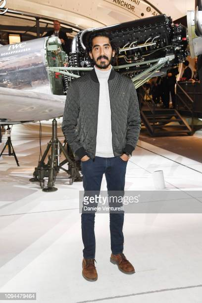 Dev Patel is seen at IWC Schaffhausen at SIHH 2019 on January 15, 2019 in Geneva, Switzerland.