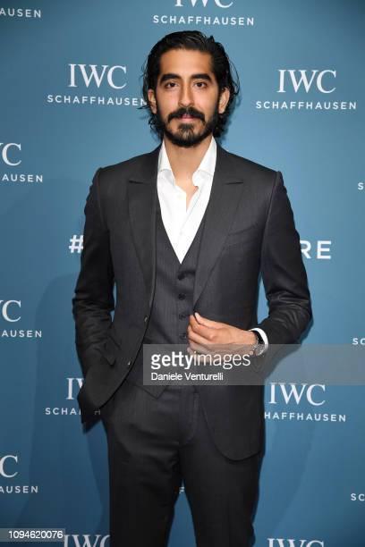 Dev Patel walks the red carpet for IWC Schaffhausen at SIHH 2019 on January 15 2019 in Geneva Switzerland