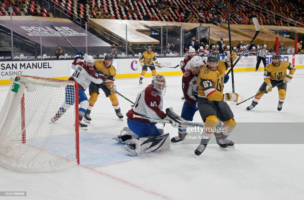Colorado Avalanche v Vegas Golden Knights : News Photo