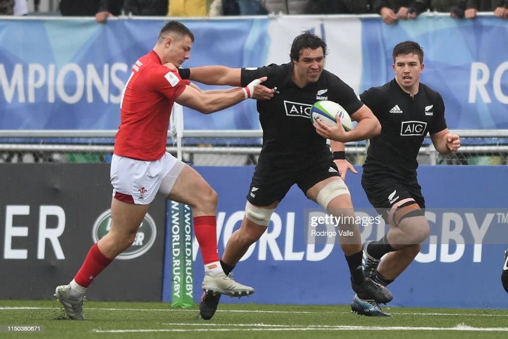 New Zealand U20 v Wales U20 - World Rugby U20 Championship 2019 : News Photo