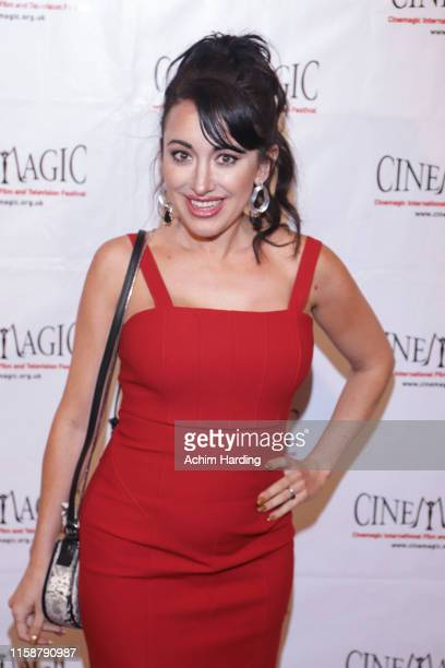 Devanny Pinn attends the 30th Anniversary Of The CineMagic Charity Gala at The Fairmont Miramar Hotel & Bungalows on June 27, 2019 in Santa Monica,...