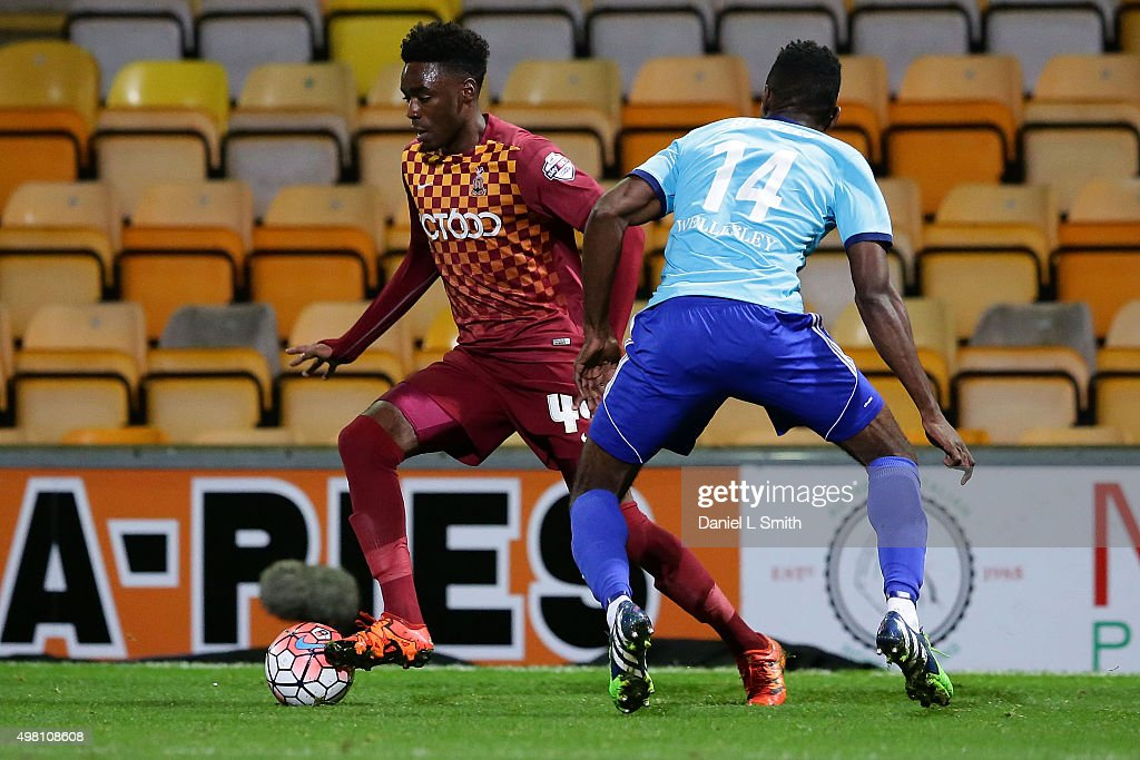 Bradford City v Aldershot Town - The Emirates FA Cup First Round Replay : News Photo