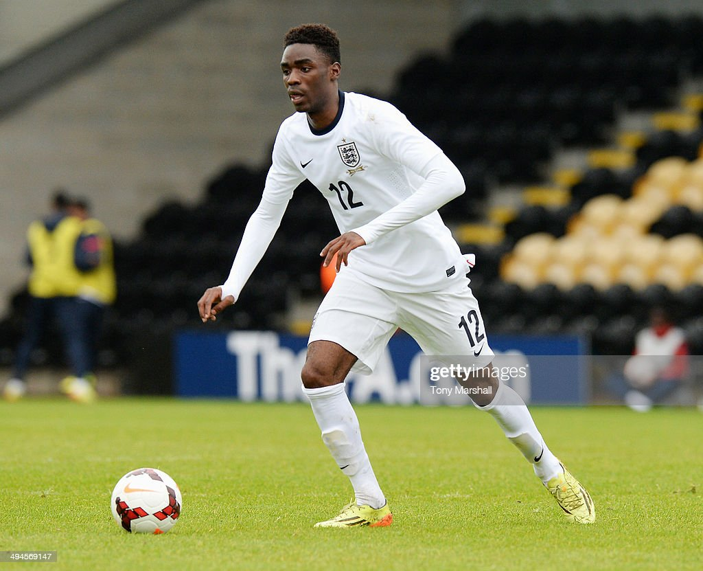 England u19 v Ukraine U19 : News Photo