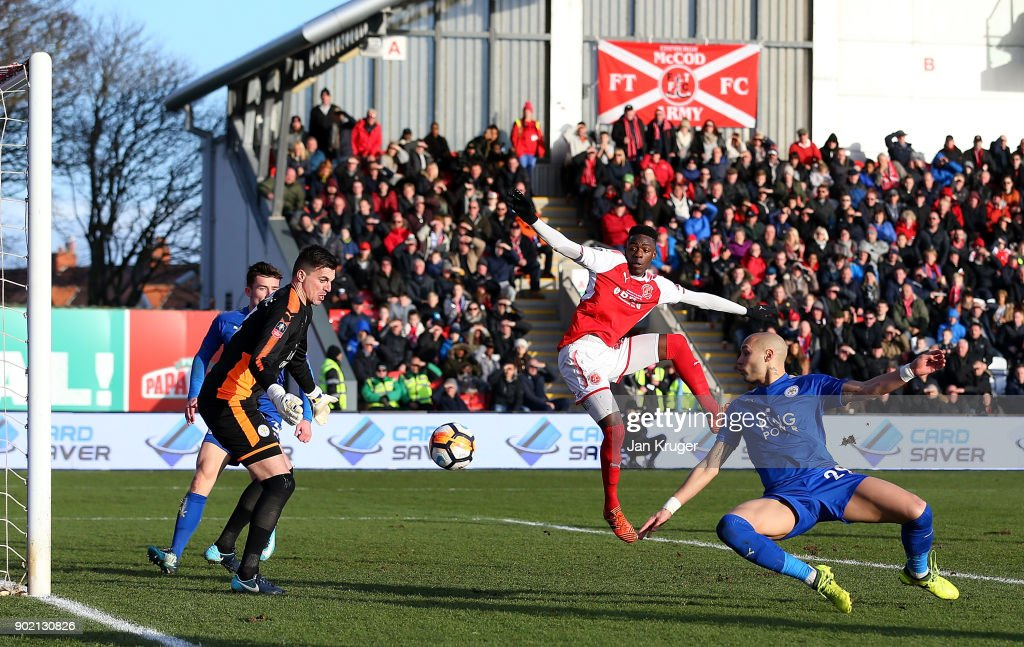 Fleetwood Town v Leicester City - The Emirates FA Cup Third Round : News Photo