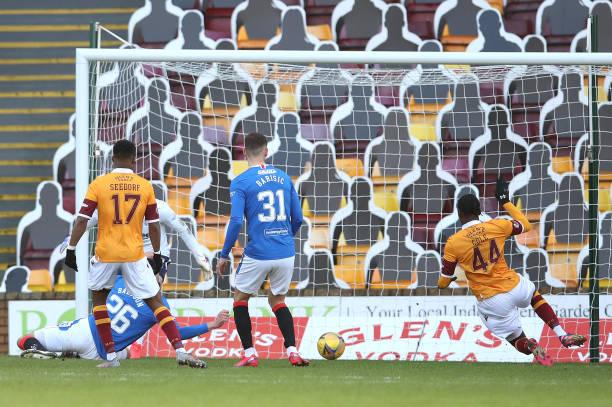 GBR: Motherwell v Rangers - Ladbrokes Scottish Premiership