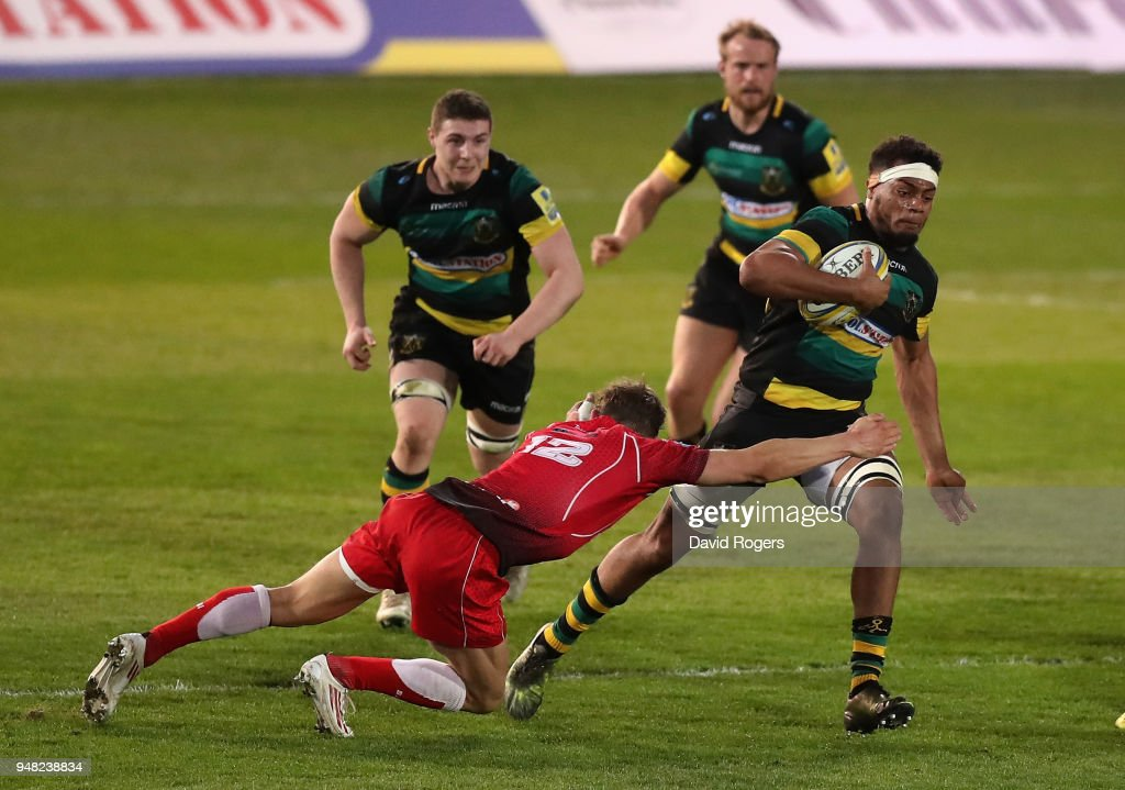 Northampton Saints v British Army: 2018 Mobbs Memorial Match